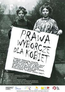 plakat prawa wyborcze LODZ
